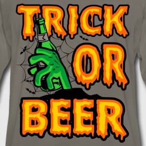 Halloween gift for beer lover - Trick or beer - Men's Premium Long Sleeve T-Shirt