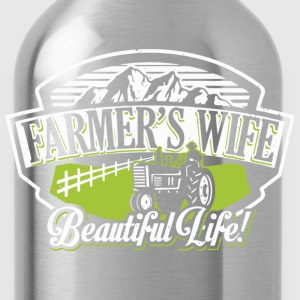 Farmer's wife - Beautiful life - Water Bottle