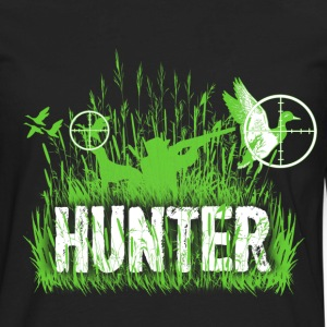 Duck hunting - Targeting - Hunt - Men's Premium Long Sleeve T-Shirt