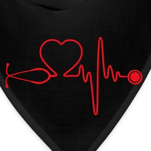 Nurse - Nursing is in my heartbeat - Bandana