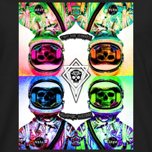 space skulls final Caps - Men's Premium Long Sleeve T-Shirt