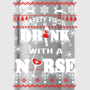Drink with a nurse - Safety first - Water Bottle