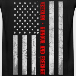Veteran flag, honor and freedom - US flag - Men's Premium Tank