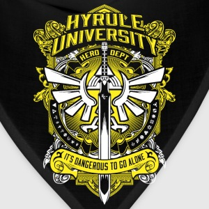 Hyrule University - It's dangerous to go alone - Bandana