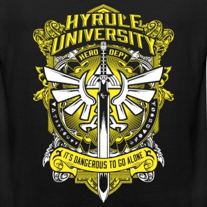 Hyrule University - It's dangerous to go alone - Men's Premium Tank