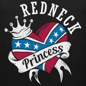 Cute T - shirt for Redneck princess fan - Men's Premium Tank
