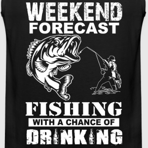 Fishing - Weekend with a chance of drinking - Men's Premium Tank