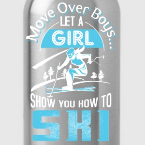 Girl show you how to ski - Move over boys - Water Bottle