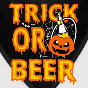 Halloween gift for beer lover - Trick or beer - Bandana