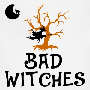 bad witches,Halloween,witch - Adjustable Apron