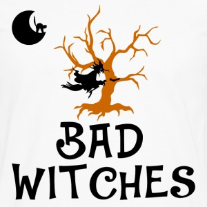 bad witches,Halloween,witch - Men's Premium Long Sleeve T-Shirt