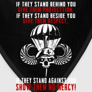 Paratrooper...they stand against you show no mercy - Bandana