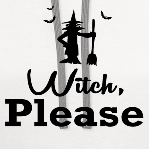 witch please1.png T-Shirts - Contrast Hoodie
