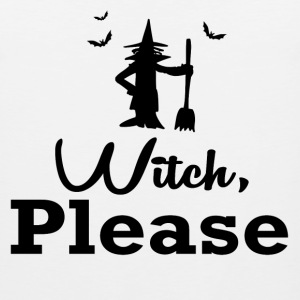witch please1.png T-Shirts - Men's Premium Tank