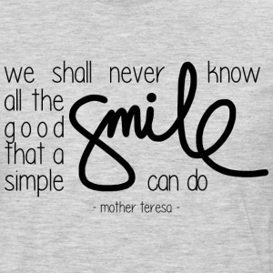 A simple smile T-Shirts - Men's Premium Long Sleeve T-Shirt