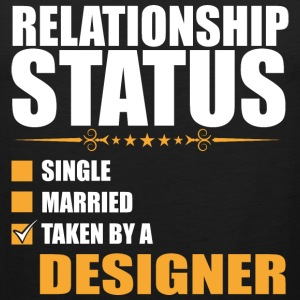 Relationship Status Single Married Taken By A Desi - Men's Premium Tank