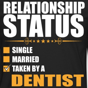 Relationship Status Single Married Taken By A Dent - Men's Premium Long Sleeve T-Shirt