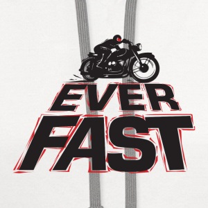 ever fast - Contrast Hoodie