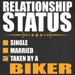 Relationship Status Single Married Taken By A Bike - Adjustable Apron
