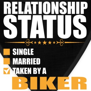 Relationship Status Single Married Taken By A Bike - Bandana