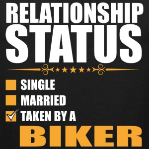 Relationship Status Single Married Taken By A Bike - Men's Premium Tank