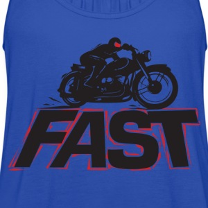 ever fast moto - Women's Flowy Tank Top by Bella