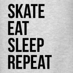SKATE EAT SLEEP REPEAT Hoodies - Men's T-Shirt