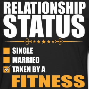 Relationship Status Single Married Fisherman - Men's Premium Long Sleeve T-Shirt