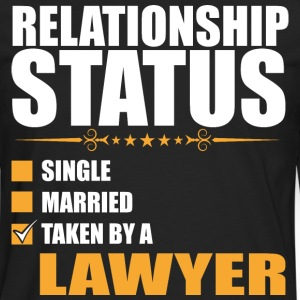 Relationship Status Single Married Lawyer - Men's Premium Long Sleeve T-Shirt