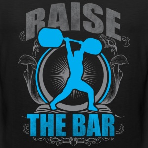 Raise The Bar - Crossfit and Weightlifting T-Shirts - Men's Premium Tank