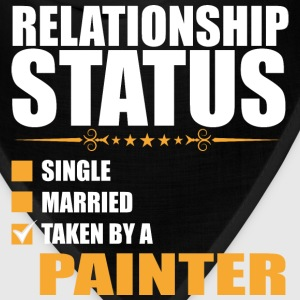 Relationship Status Single Married Painter T-Shirt - Bandana