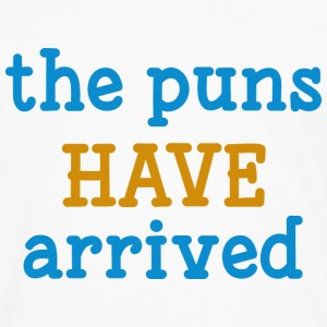 The Puns Have Arrived - Men's Premium Long Sleeve T-Shirt