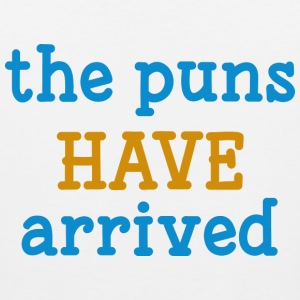 The Puns Have Arrived - Men's Premium Tank