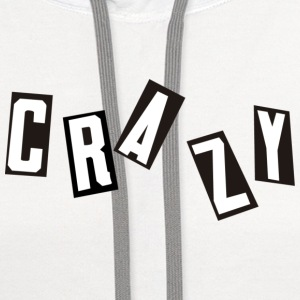 Bad Trip Clothe´s Crazy T-shirt - Contrast Hoodie