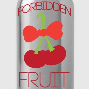 Forbidden fruit yellow t shirt - Water Bottle