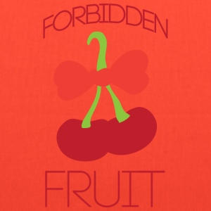 Forbidden fruit yellow t shirt - Tote Bag