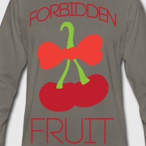 Forbidden fruit yellow t shirt - Men's Premium Long Sleeve T-Shirt