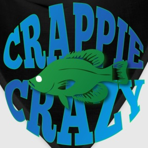 Crappie crazy black t shirt - Bandana