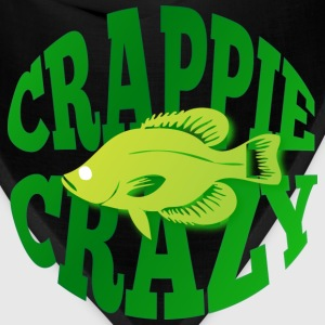 Crappie Crazy brown t shirt - Bandana