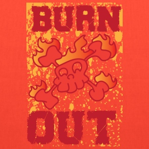 burn out yellow t shirt - Tote Bag