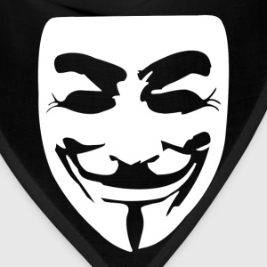 Guy Fawkes Mask - Bandana