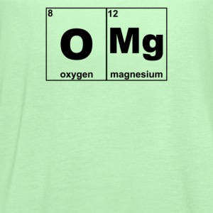 Omg Periodic Table Funny - Women's Flowy Tank Top by Bella