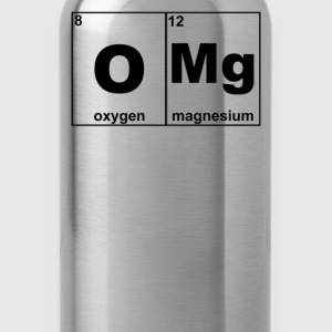 Omg Periodic Table Funny - Water Bottle