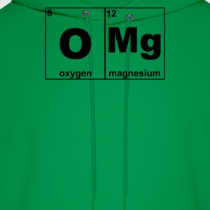 Omg Periodic Table Funny - Men's Hoodie