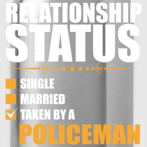 Relationship Status Single Married Policeman - Water Bottle