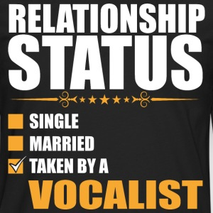 Relationship Status Single Married Vocalist - Men's Premium Long Sleeve T-Shirt