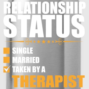Relationship Status Single Married Therapist - Water Bottle