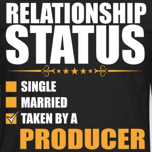 Relationship Status Single Married Producer - Men's Premium Long Sleeve T-Shirt