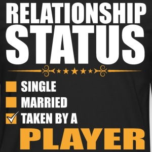 Relationship Status Single Married Player - Men's Premium Long Sleeve T-Shirt