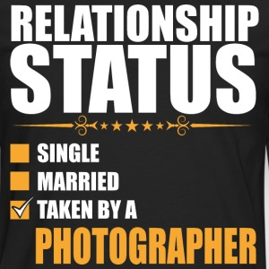 Relationship Status Single Married Photographer - Men's Premium Long Sleeve T-Shirt